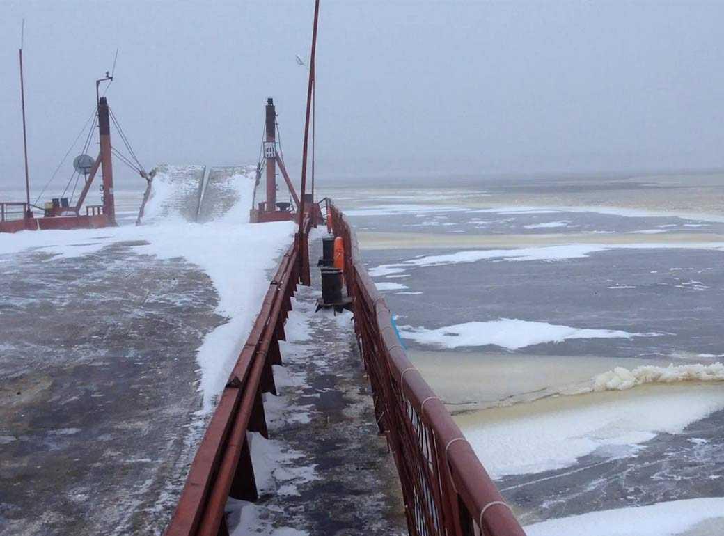 Салехардский мост ждёт строителей